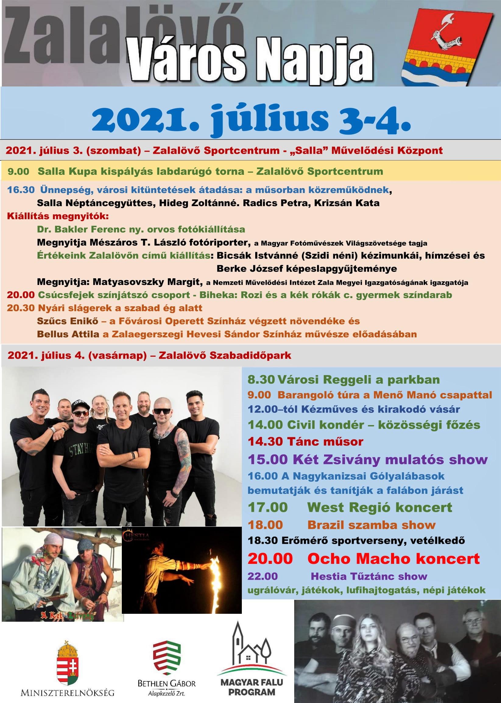 Város Napja 2021. július 3-4